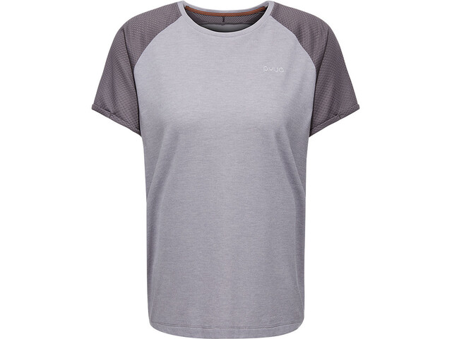PYUA Skip S T-Shirt Women grey melange